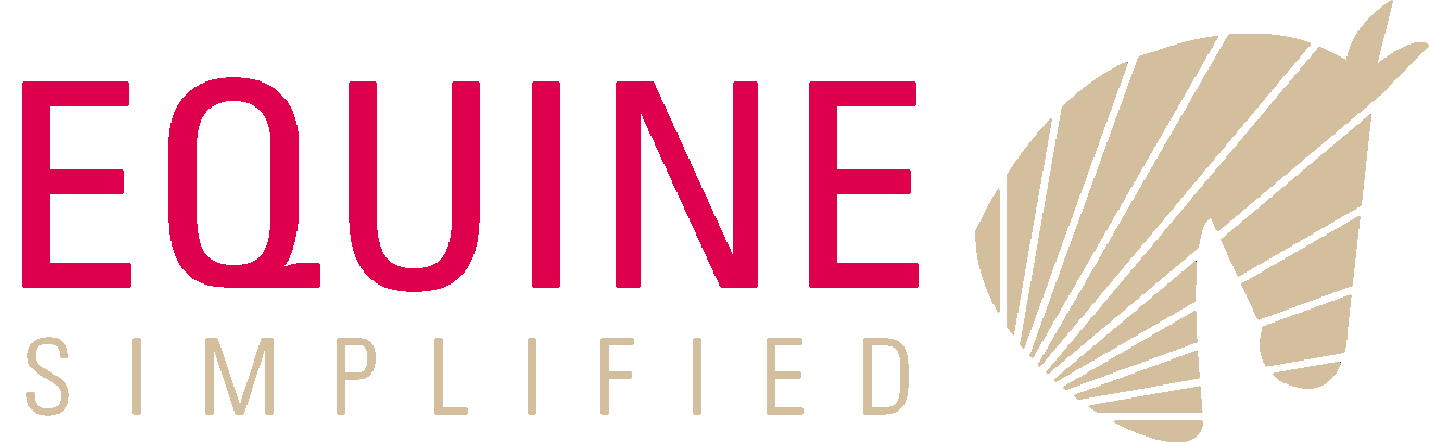 Equine Simple Logo Red