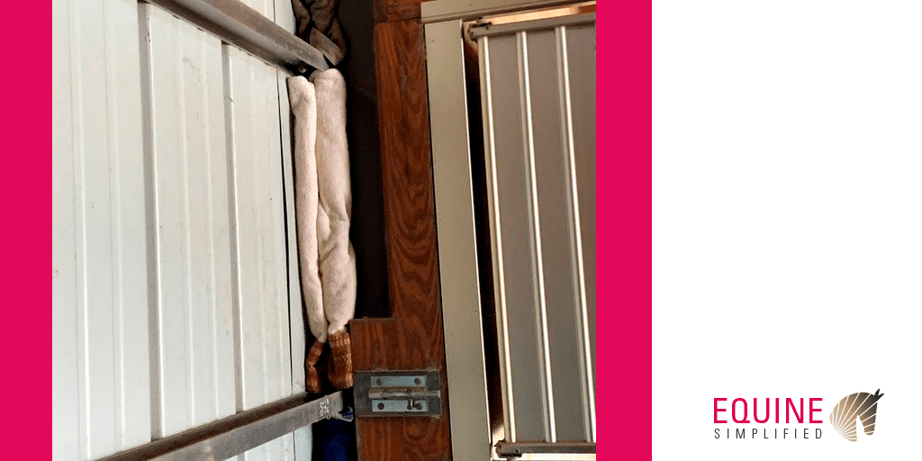 Sealing openings in barn - Equine Simplified - Barn Management Software